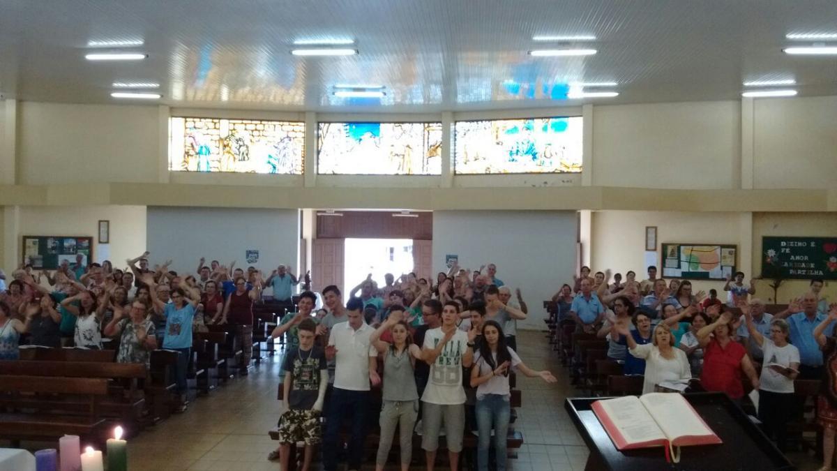 Paróquia São José, em Passo Fundo, reúne comunidades para celebrar