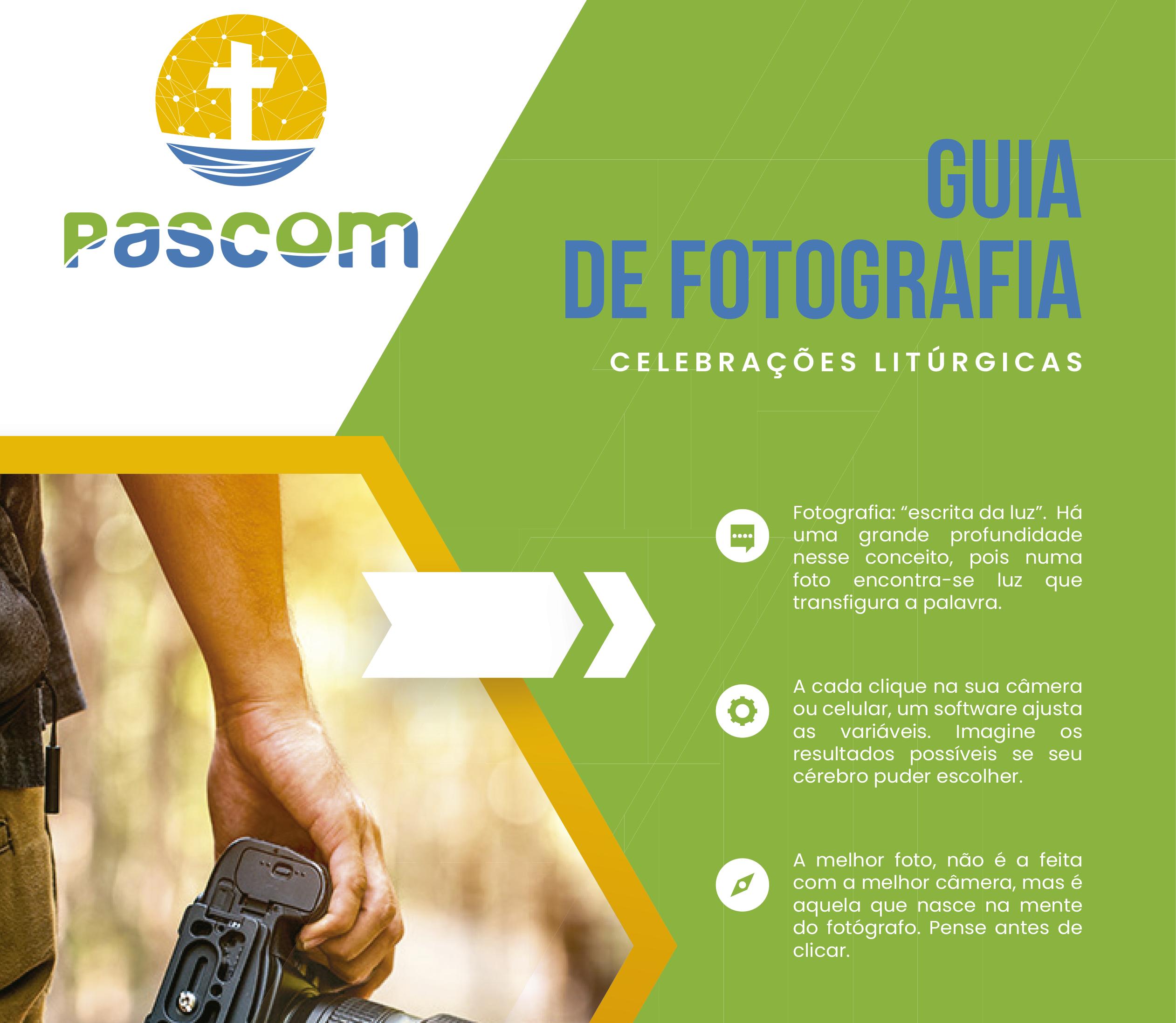 PASCOM: Guia de Fotografia Litúrgica está disponível para download