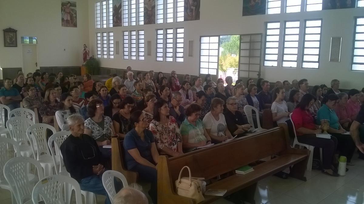 Paróquias Santo Antônio de Gentil e de Santo Antônio do Palma realizam manhã de formação