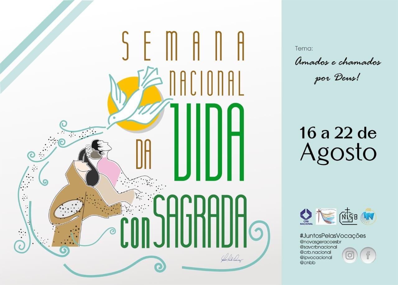 Mês Vocacional recebe a primeira Semana Nacional da Vida Consagrada