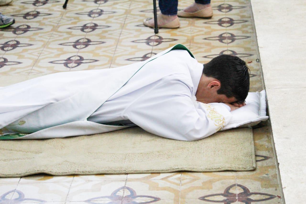 Arquidiocese acolhe novo padre