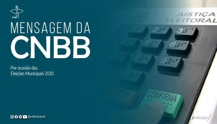 CNBB divulga Mensagem sobre as eleições municipais de 2020