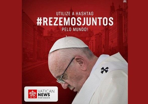 O poder da oração: Papa Francisco convoca os fiéis para oração nesta quarta-feira
