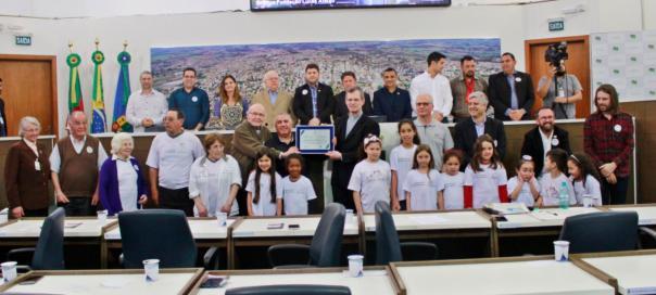 Trabalho da Fundação Lucas Araújo é reconhecido pela Câmara Municipal