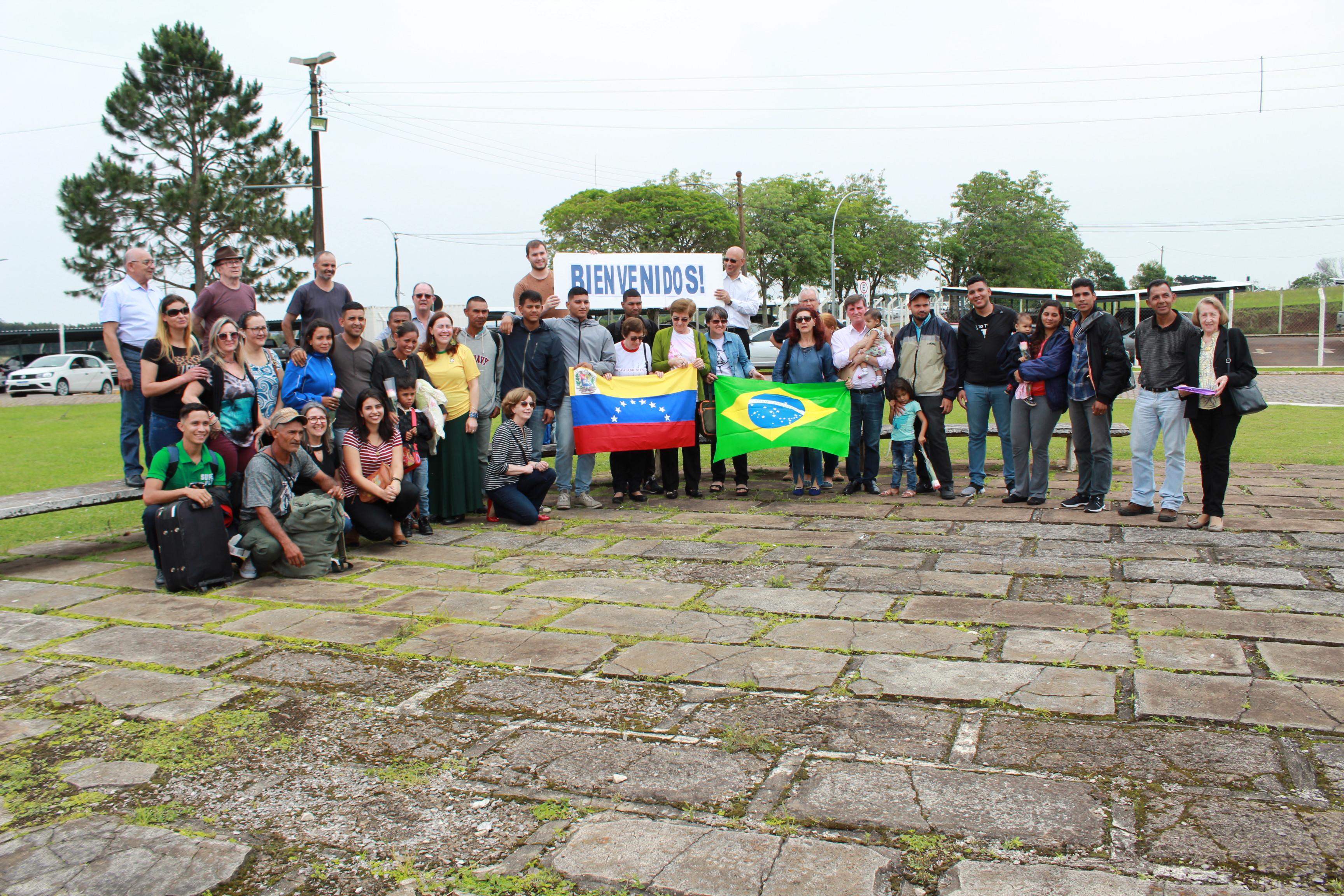Caminhos de Solidariedade: Arquidiocese de Passo Fundo acolhe 20 venezuelanos