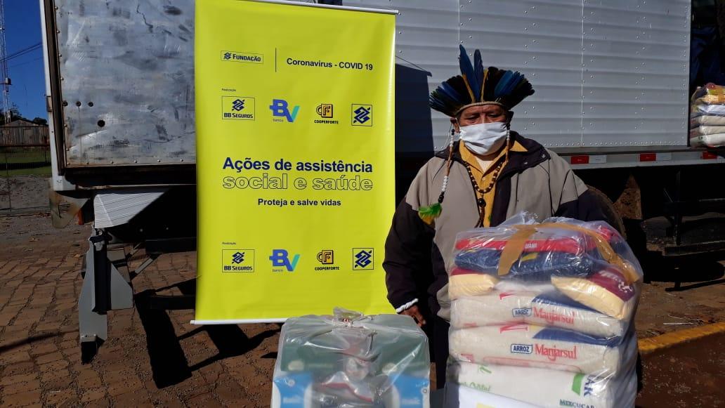 Cáritas Arquidiocesana realiza a doação de mais de 850 cestas básicas