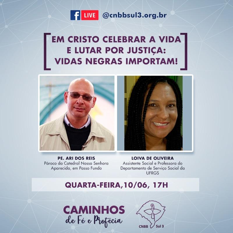 CNBB Sul 3 lança série de lives Caminhos de Fé e Profecia
