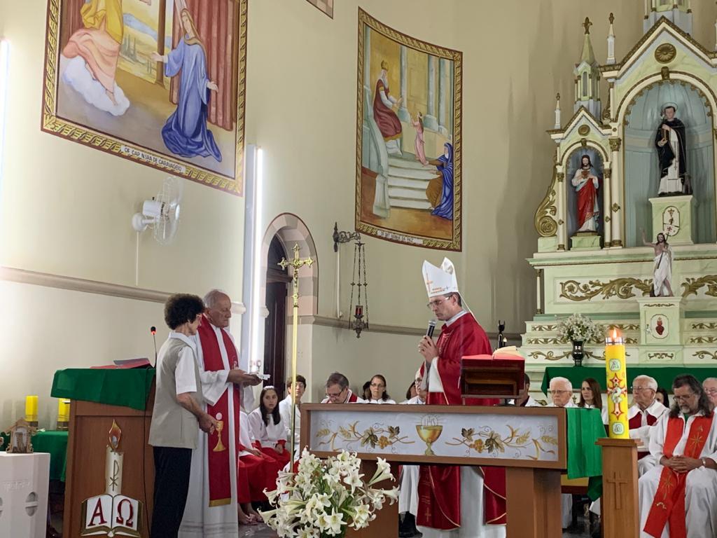 São Domingos do Sul recebe padre Avelino Pinzetta