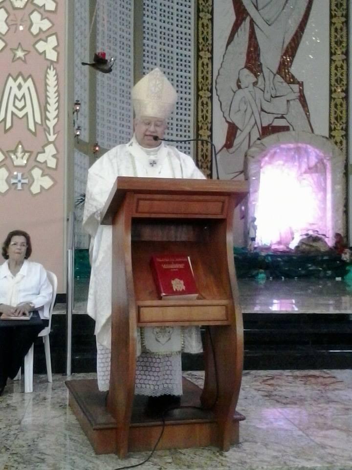 Homilia de Dom Antonio Carlos Altieri na Missa do Natal do Senhor