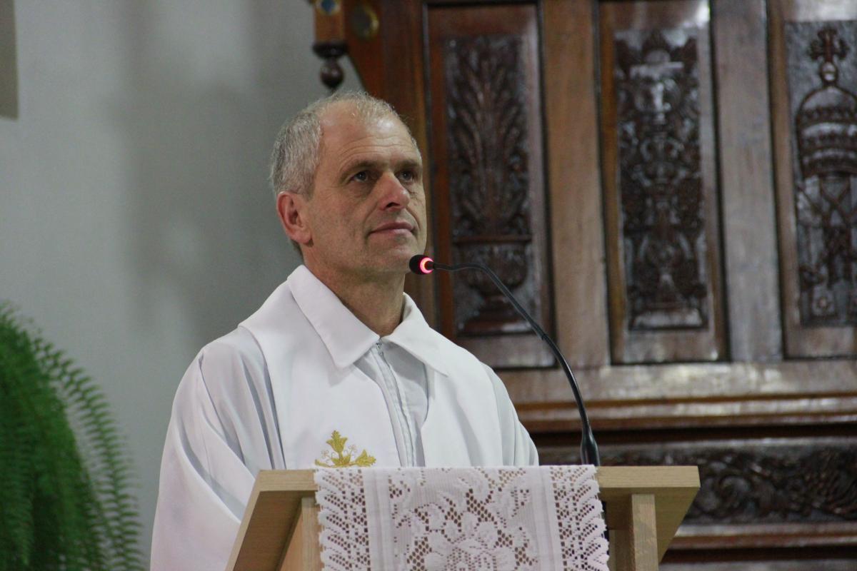Nova Boa Vista acolhe Padre Geraldo Collet