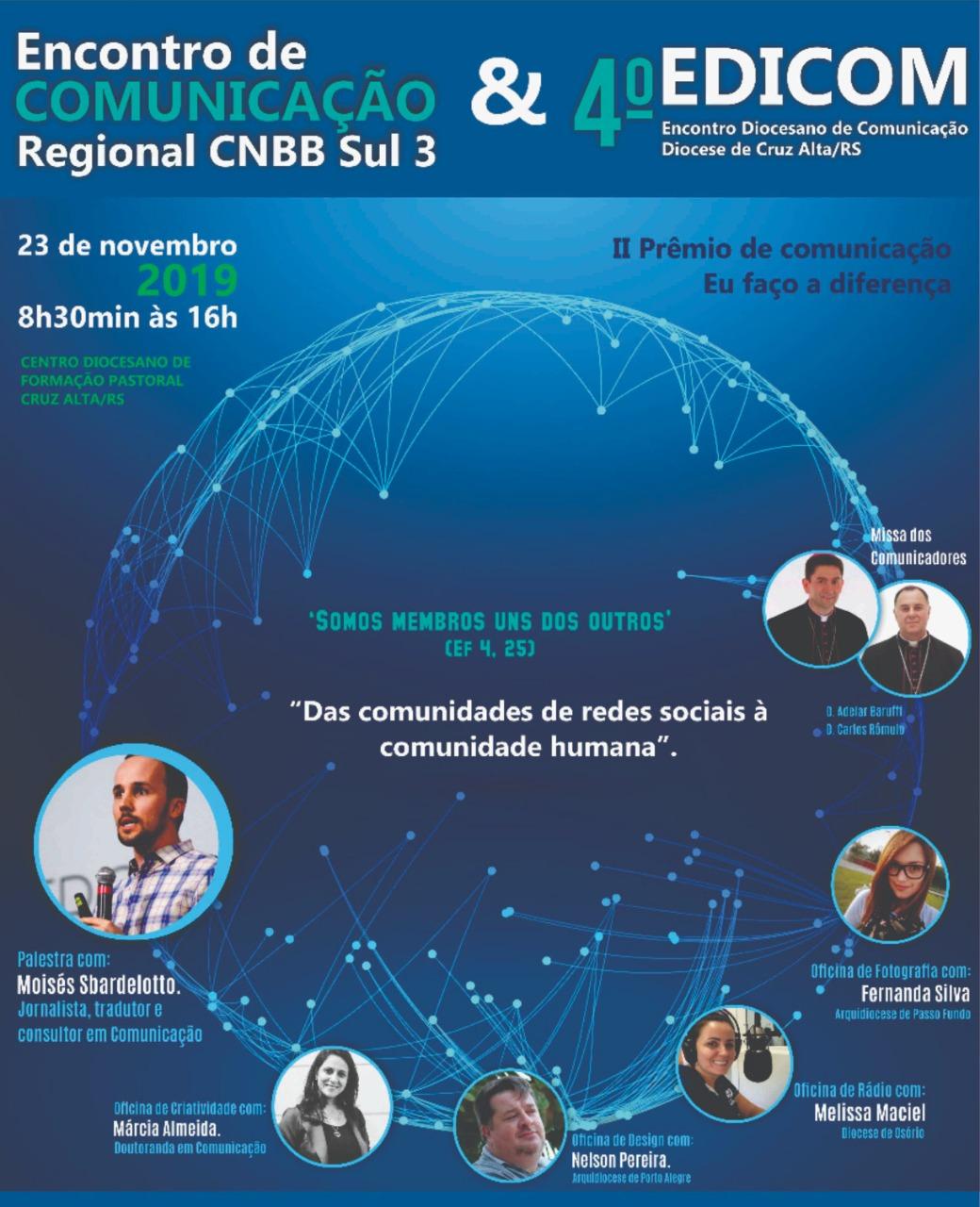 IV Encontro Regional de Comunicação é neste final de semana