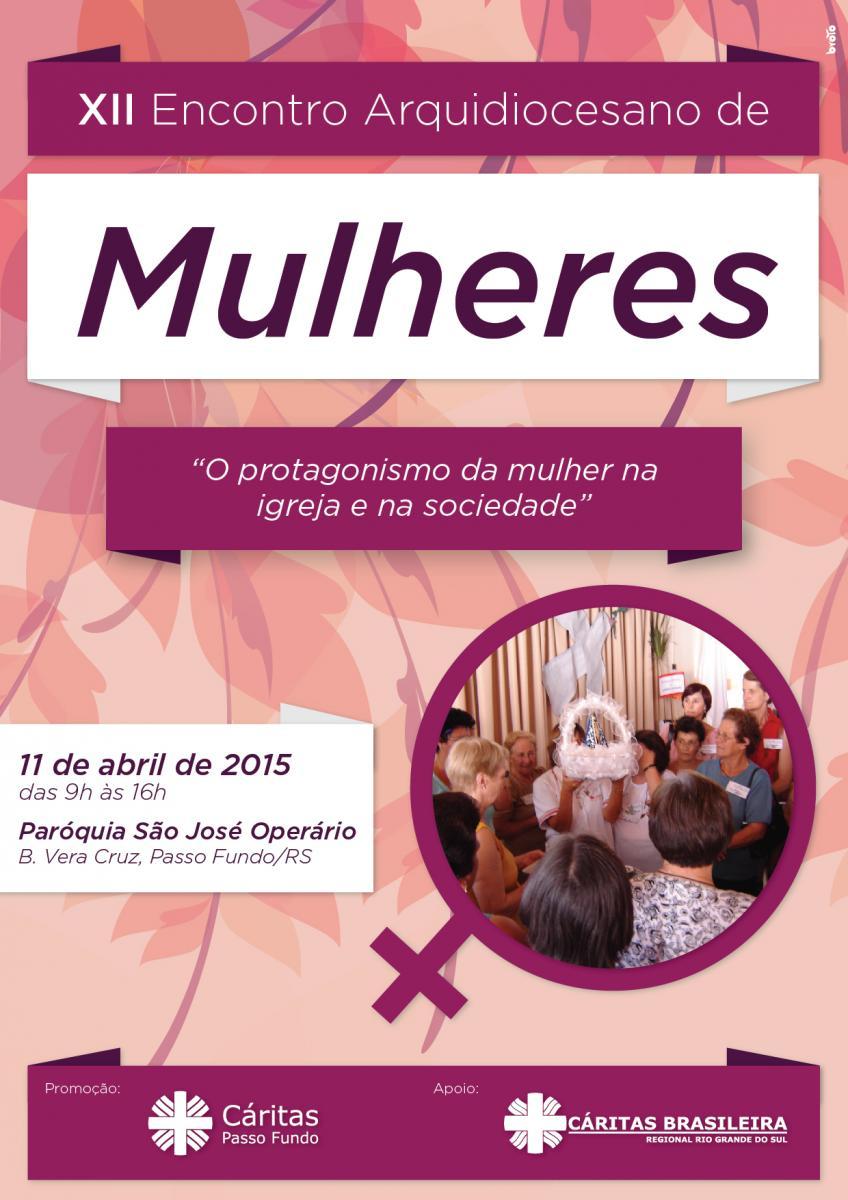 Começam os preparativos para o XII Encontro Arquidiocesano de Mulheres