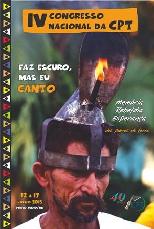 IV congresso Nacional da CPT acontecerá em Porto Velho/RO