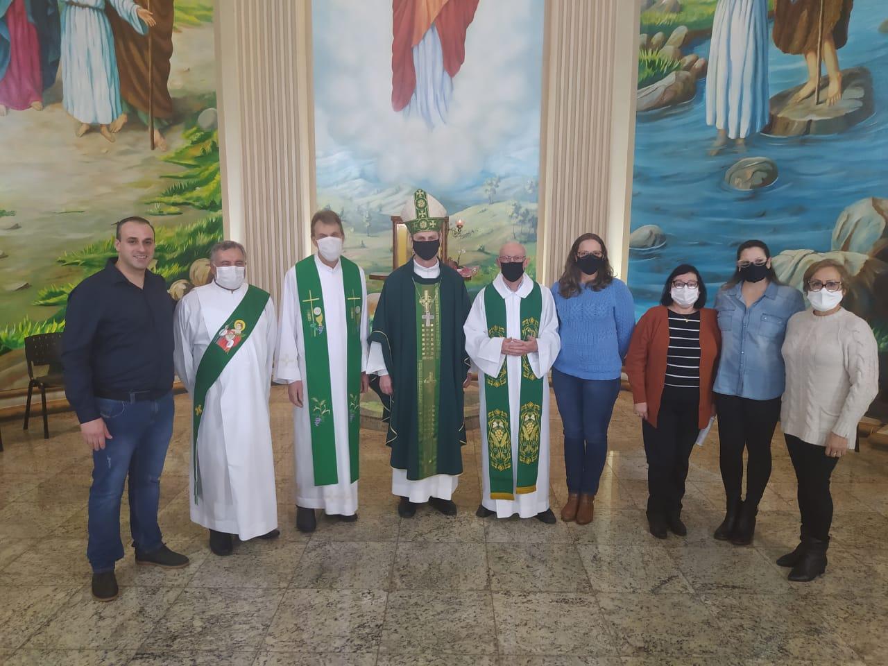 Tapejara acolhe novo Vigário Paroquial