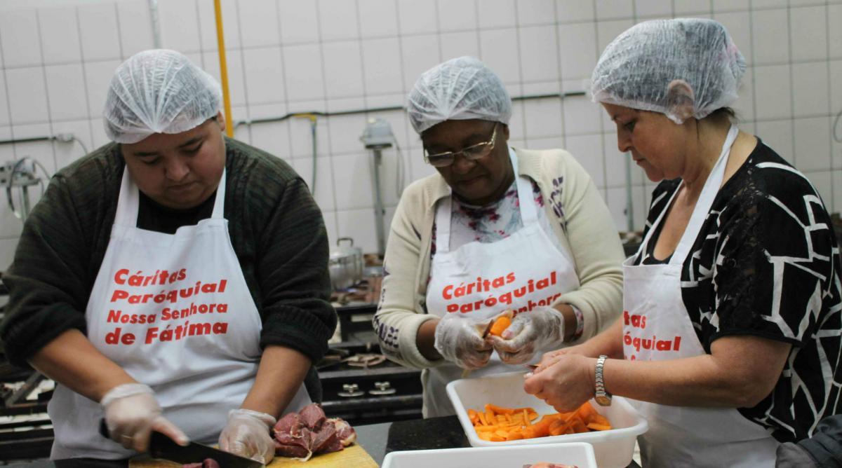 Oficinas de alimentação saudável são realizadas também em Carazinho
